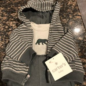 Carters NWT 3 piece set - newborn NB